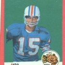 1969 Topps football card #48 (B) John Stofa NM/M Cincinnati Bengals