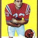 1969 Topps football card #40 Bob Cappadona NM Buffalo Bills