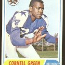 1968 Topps football card #216 Cornell Green EX/NM Dallas Cowboys