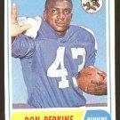 1968 Topps football card #50 (B) Don Perkins NM Dallas Cowboys