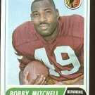 1968 Topps football card #35 Bobby Mitchell EX Washington Redskins