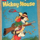 Dell comic book - Walt Disney's Mickey Mouse #63 1959 G/VG condition