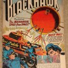 Blackhawk comic book #124 1958 coupon out of cover, otherwise G/VG