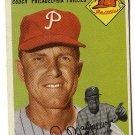 1954 Topps baseball card #247 (B) Eddie Mayo VG Philadelphia Phillies