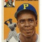 1954 Topps baseball card #242 Curt Roberts VG Pittsburgh Pirates