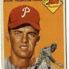 1954 Topps baseball card #236 (B) Paul Penson VG condition Philadelphia Phillies