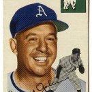 1954 Topps baseball card #233 Augie Galan EX Philadelphia Athletics