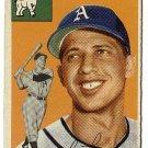 1954 Topps baseball card #232 Lou Limmer EX Philadelphia Athletics