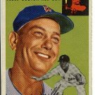 1954 Topps baseball card #227 (B) Buster Mills VG/EX Boston Red Sox