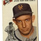 1954 Topps baseball card #225 (C) Don Liddle VG New York Giants