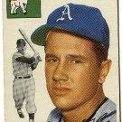 1954 Topps baseball card #215 Ed McGhee VG Philadelphia Athletics