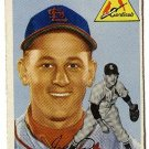 1954 Topps baseball card #135 (B) Joe Presko VG (pinhole) St. Louis cardinals