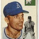 1954 Topps baseball card #129 Forrest Jacobs VG/EX Philadelphia Athletics