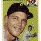 1954 Topps baseball card #95 Hal Rice Vg Pittsburgh Pirates