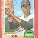 1968 Topps baseball card #595 Phil Ortega NM