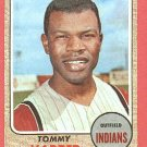 1968 Topps baseball card #590 Tommy Harper NM