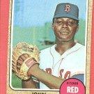 1968 Topps baseball card #481 John Wyatt EX