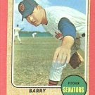 1968 Topps baseball card #462 Barry Moore NM-