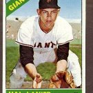 1966 Topps baseball card #271 Hal Lanier EX/NM San Francisco Giants