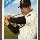 1966 Topps baseball card #190 (B) Jimmie Hall VG Minnesota twins