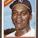 1966 Topps baseball card #177 (B) Hector Lopez NM- New York Yankees