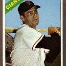 1966 Topps baseball card #176 Jim Davenport NM San Francisco Giants