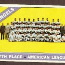 1966 Topps baseball card #131 California Angels team VG+