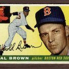1955 Topps baseball card #148 Hal Brown EX Boston Red Sox
