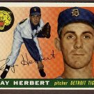 1955 Topps baseball card #138 Ray Herbert NM Detroit Tigers