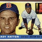 1955 Topps baseball card #131 (D) Grady Hatton EX Boston Red Sox