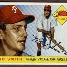 1955 Topps baseball card #130 (B) Mayo Smith EX/NM Philadelphia Phillies