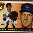 1955 Topps baseball card #129 (B) Elvin Tappe EX Chicago Cubs