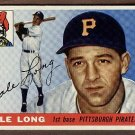 1955 Topps baseball card #127 (C) Dale Long VG+ Pittsburgh Pirates