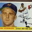 1955 Topps baseball card #119 Bob Lennon EX/NM New York Giants