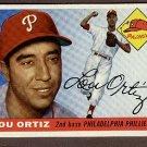 1955 Topps baseball card #114 (C) Lou Ortiz EX Philadelphia Phillies