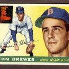 1955 Topps baseball card #83 Tom Brewer VG/EX Boston Red Sox