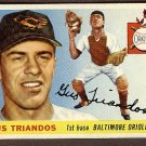 1955 Topps baseball card #64 Gus Triandos VG Baltimore Orioles