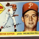 1955 Topps baseball card #62 (B) Thornton Kipper EX/NM Philadelphia Phillies
