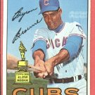 1967 Topps baseball card #439 Byron Browne EX Chicago Cubs