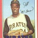 1967 Topps baseball card #203 Al McBean EX Pittsburgh Pirates