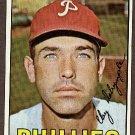 1967 Topps baseball card #53 (C) Clay Dalrymple EX Philadelphia Phillie