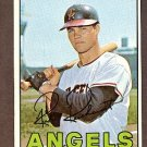 1967 Topps baseball card #40 Rick Reichardt Ex California Angels