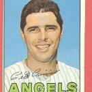 1967 Topps baseball card #34 Pete Cimino VG California Angels