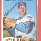 1967 Topps baseball card #16 Bill Hands EX Chicago Cubs
