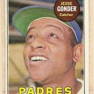 1969 Topps baseball card #617 Jesse Gonder EX San Diego Padres