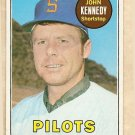 1969 Topps baseball card #631 John Kennedy Ex Seattle Pilots