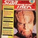 Star Trek The Next Generation magazine Vol. #4 Michael Dorn, Enterprise design, Patrick Stewart