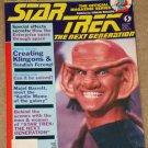 Star Trek The Next Generation magazine Vol. #2 Creating Klingons & Ferengi, behind the scenes