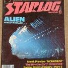 Starlog magazine #23 1979 Alien, David 'Darth Vader' Prowse interview, Monument movie