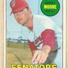 1969 Topps baseball card #639 Barry Moore EX/NM Washington Senators